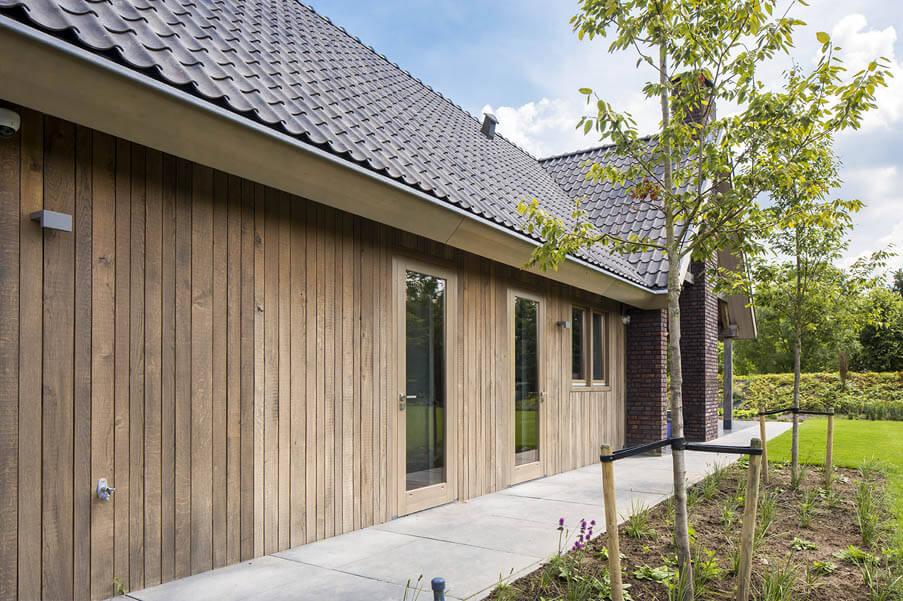 Gevelbekleding hout inspiratie Houthandel Looijmans