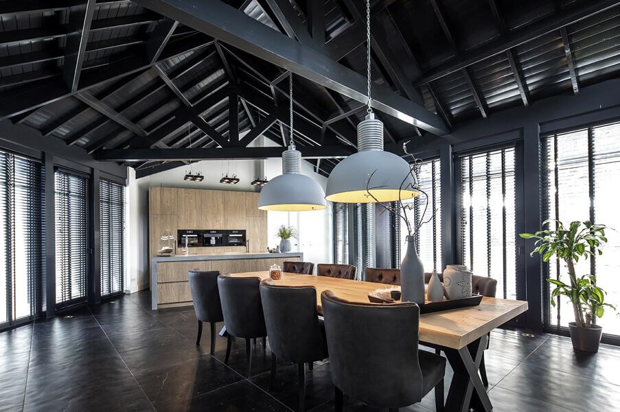 Keuken Woonkamer hout - 2 inspiratie Houthandel Looijmans