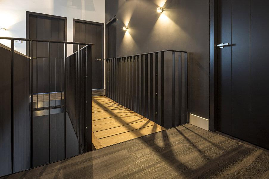 Exclusieve zwarte binnendeuren inspiratie 3 Houthandel Looijmans