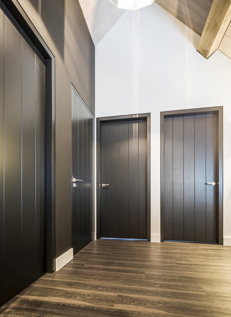 Exclusieve zwarte binnendeuren inspiratie 5 Houthandel Looijmans