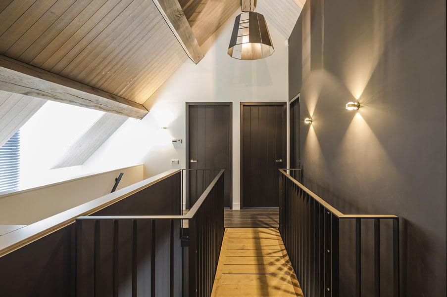 Exclusieve zwarte binnendeuren inspiratie Houthandel Looijmans